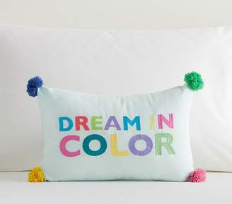 Pottery Barn Kids Dream in Color Pillow