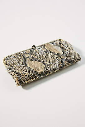 Hobo Lauren Embossed Leather Clutch