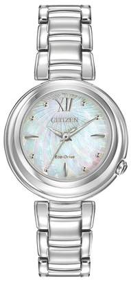 Citizen Women's Eco-Drive Sunrise Stainless Bracelet Watch, 30mm