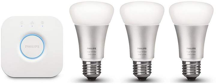Hue White And Colour Ambiance GU10 LED Starter Kit