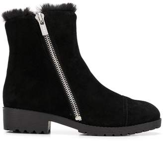 DKNY (ディー ケー エヌワイ) - DKNY shearling lined ankle boots