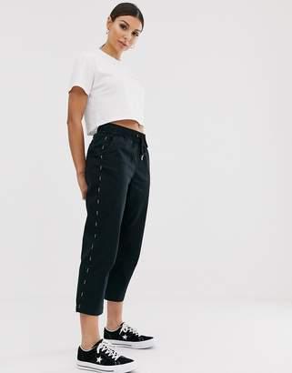 Converse black utility pants