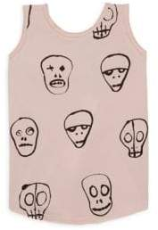 Nununu Toddler's, Littel Girl's & Girl's Skull Mask Tank Top