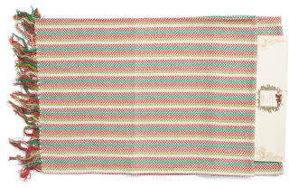Made In India Striped Table Runner