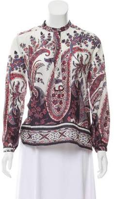Etoile Isabel Marant Long Sleeve Smock Top