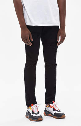 PacSun Skinny Ripped Black Jeans fc80758daeef