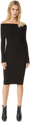 Line & Dot Lea Off Shoulder Dress $126 thestylecure.com