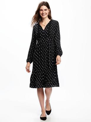 Empire-Waist Midi Dress for Women $39.94 thestylecure.com