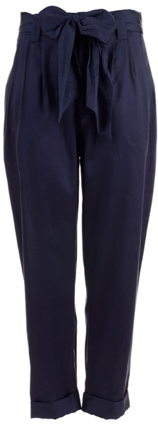 MARC BY MARC JACOBS - Bow detail belt trousers