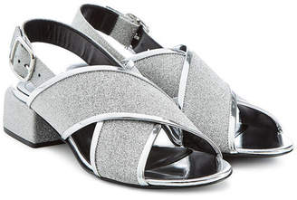 Marni Sandals with Metallic Leather