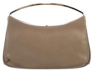 Judith Leiber Embellished Leather Clutch