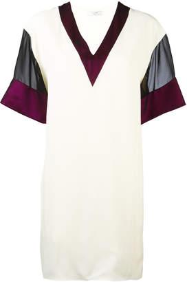 Lanvin mesh sleeve T-shirt dress