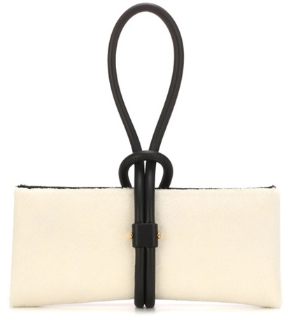 Tom Ford Tubo Zip leather clutch