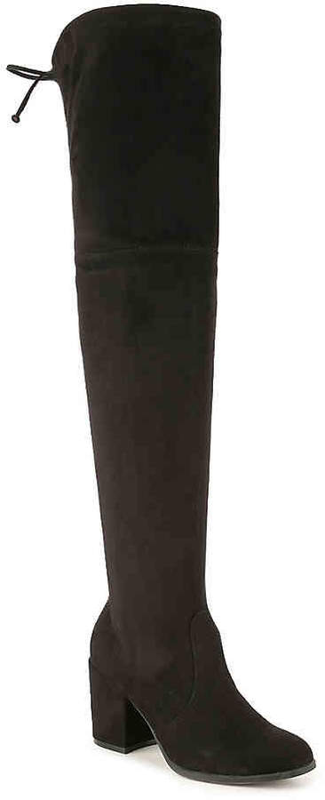 Women's Dedrii Over The Knee Boot -Black
