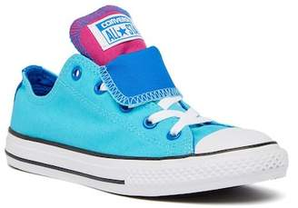 Converse Chuck Taylor All Star Double Tongue Sneaker (Little Kid)