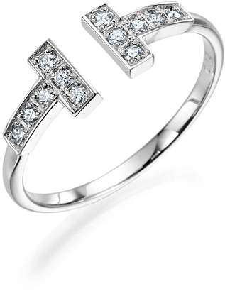 GIANTTI K18WG/YG ダイヤモンド デザインリング ホワイトゴールド 12