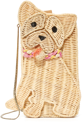 Serpui Marie Bull Dog Clutch $138 thestylecure.com
