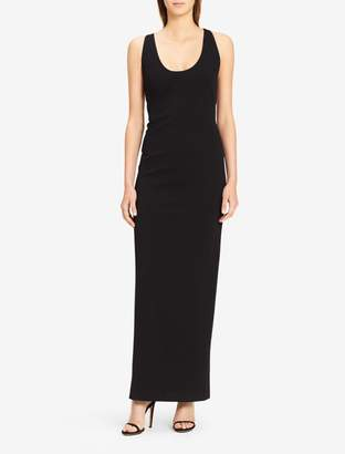 Calvin Klein x-back scoopneck gown