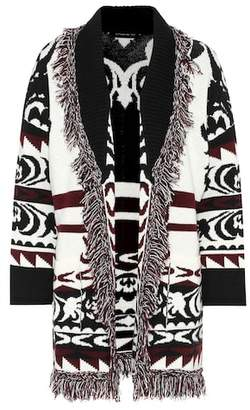 Etro Knitted wool cardigan
