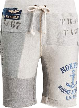 Ralph Lauren Patchwork Cotton-Blend Short