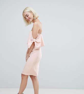 New Look Bow Sleeve Midi Dress