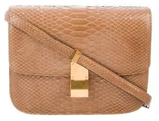 Celine Python Medium Box Bag