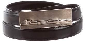 Cartier Leather Logo Belt