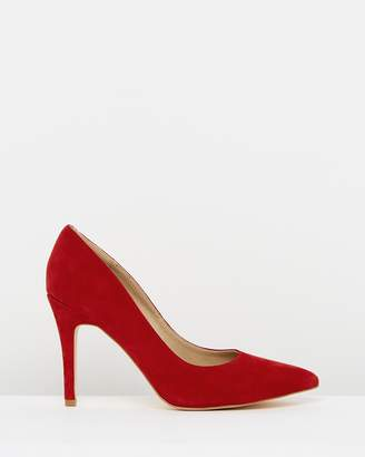 Atmos & Here Elaine Leather Pumps