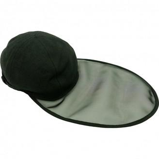 Saint Laurent Vintage Black Linen Hats