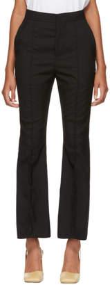 Marni Black Tropical Wool Trousers