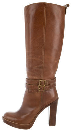 Tory BurchTory Burch Leather Knee-High Boots