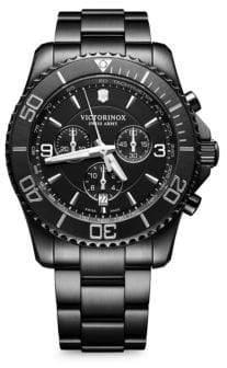 Victorinox Maverick PVD Stainless Steel Bracelet Watch
