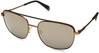 Polaroid Sunglasses Men's Pld2056s Polarized Square
