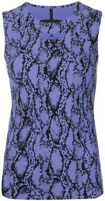 adidas by Stella McCartney snake print tank top