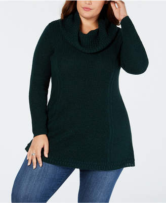 Style&Co. Style & Co Plus Size Cowl-Neck Tunic