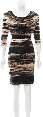 Tracy Reese Abstract Keyhole-Accented Dress $85 thestylecure.com