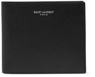 Saint Laurent Grained-leather Billfold Wallet
