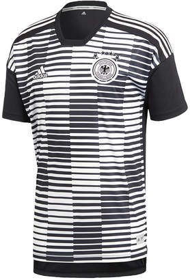 adidas Men's ClimaLite Germany Dfb Printed Soccer Shirt
