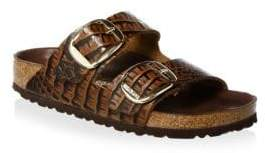 Birkenstock Arizona Big Buckle Gator Sandals