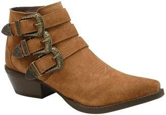 Ravel Womens Leather Ankle Boot - Brown
