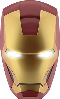 Philips Marvel Iron Man 3D LED Wall Light Including 3AA Batteries, Gold/Red