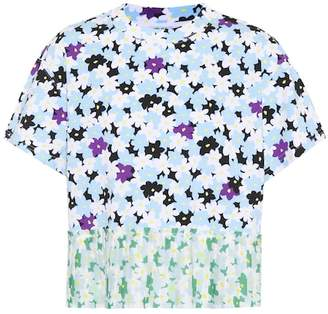 Kenzo Mixed floral cotton T-shirt