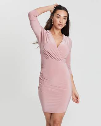 Missguided Gathered Mini Dress