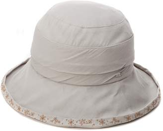 f5ebff8a Siggi Womens Summer Bucket Boonie UPF 50+ Wide Brim Sun Hat Cord Cap Beach  Accessories
