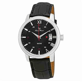 Lucien Piccard Men's LP-40019-01 Amici Stainless Steel Watch with Leather Band