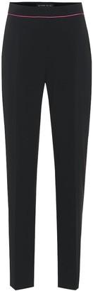 Etro High-rise crepe pants