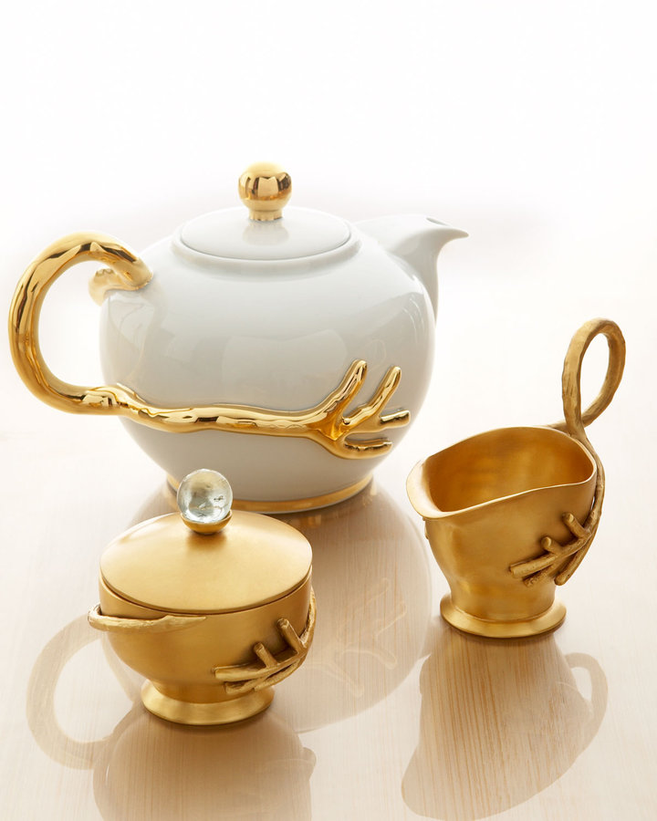 Grant Dawson Porcelain Teapot