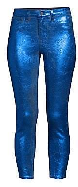 L'Agence Women's Margot Metallic Jeans