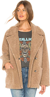 Velvet by Graham & Spencer Yoko Faux Sherpa Jacket