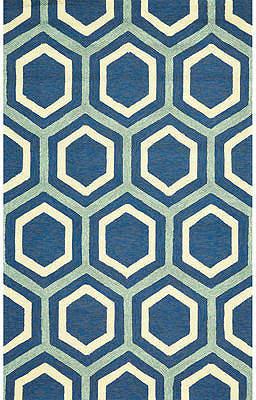 Feizy Rugs Hexagon Indoor/Outdoor Rectangular Rug